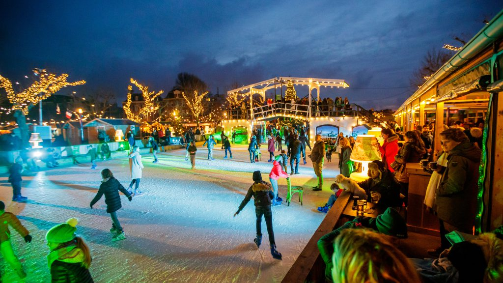 ice rink on Museumplein